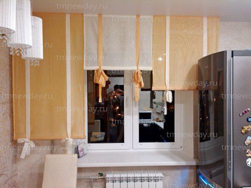 Декоративные панели из ткани на кухнеДекоративные панели из ткани на кухне