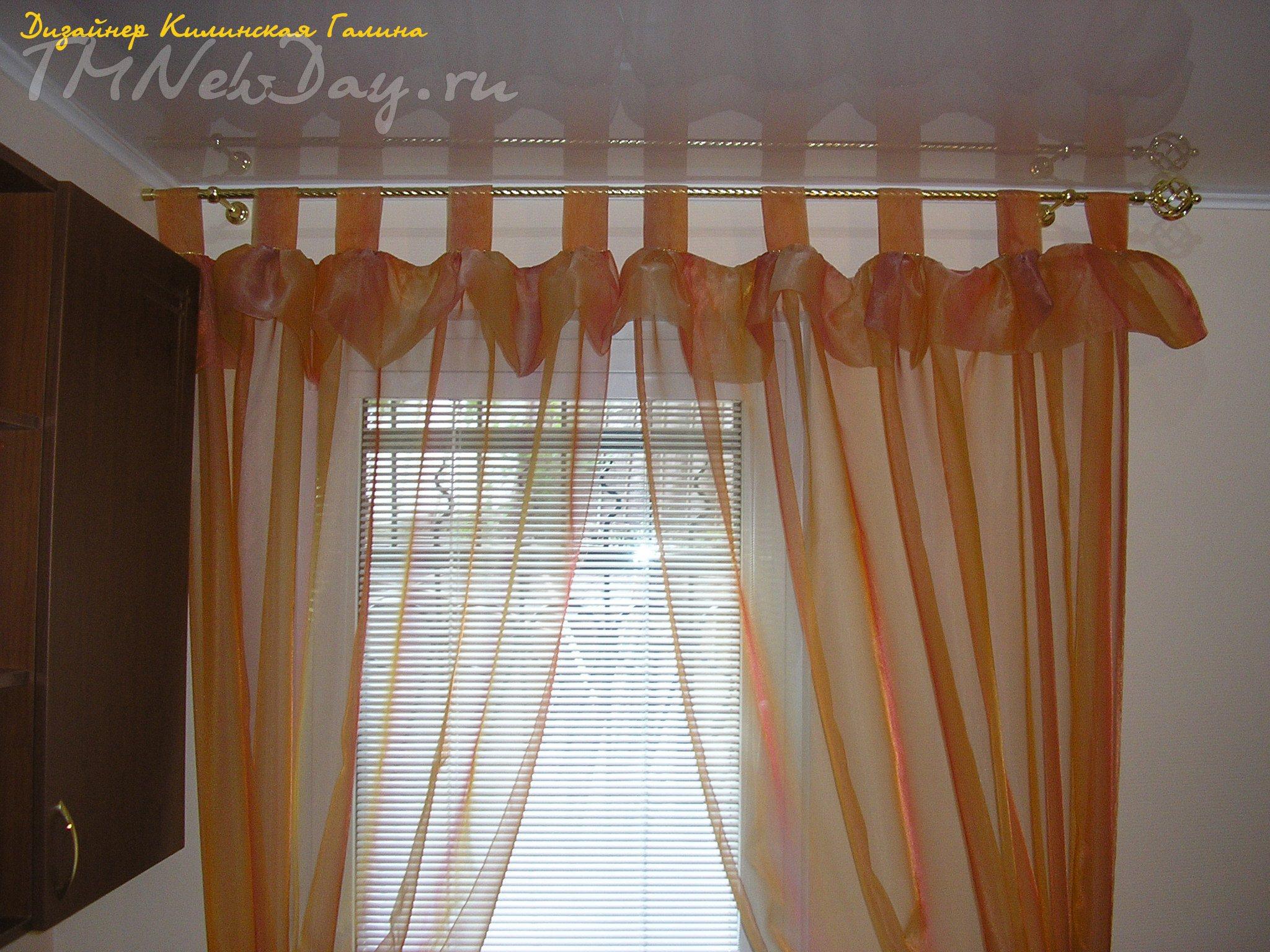 Шьем шторы на петлях 170
