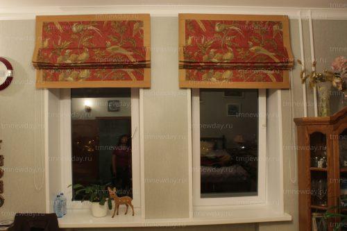 Римские шторы классика