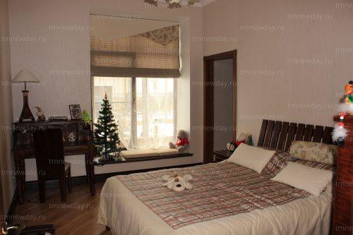 Римская штора с ламбрекеном в детскую комнату