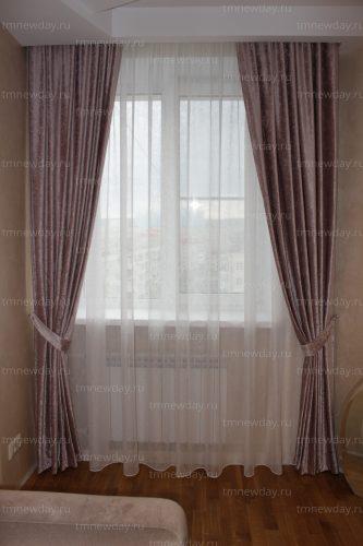Оформление окна шенилл