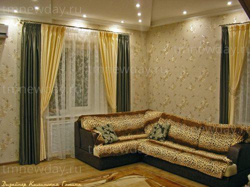 Оформление текстилем зала