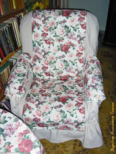 Чехлы на диван и кресло (2)