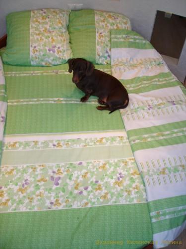Комплект постельного белья на круглую кровать (3)