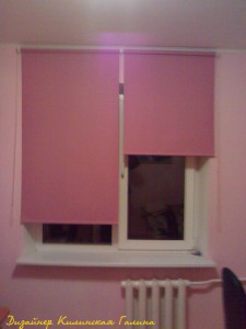 Рулонные шторы в детской (2)