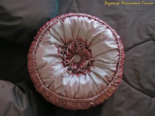 Сложное комбинированное покрывало с авторской подушкой (2)