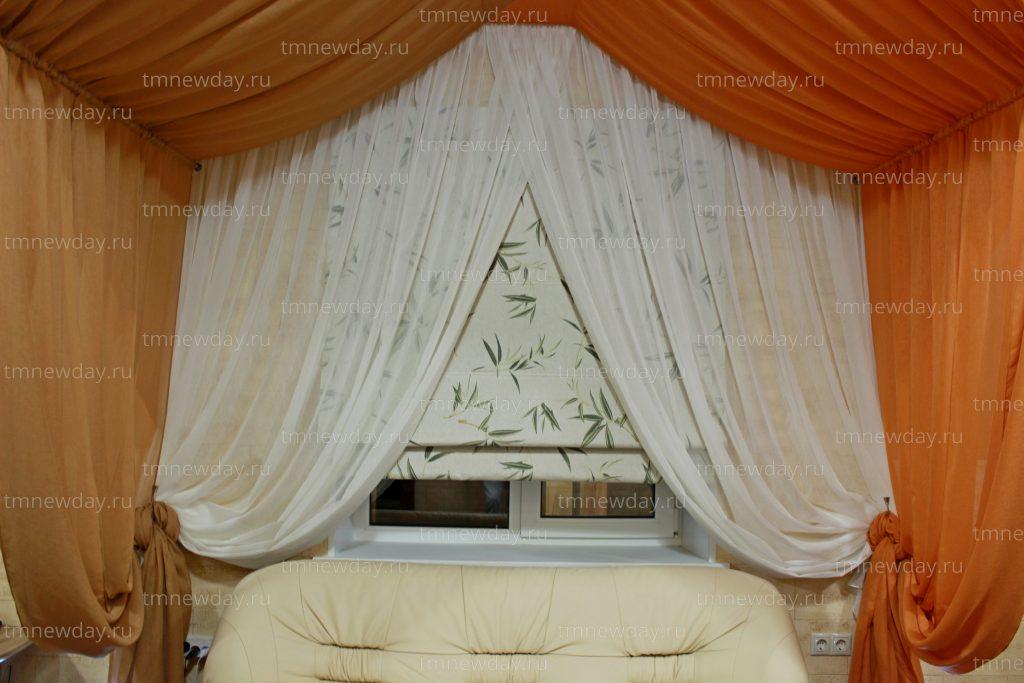 Оформление текстилем гостиничного номера