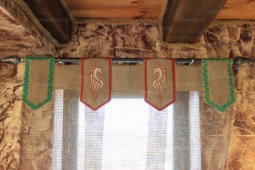Роспись по ткани оформление текстилем шторы н азаказ
