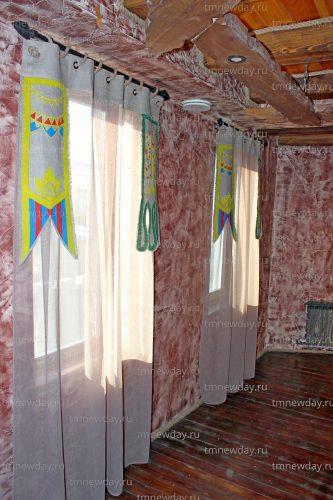 Текстильное оформление бара