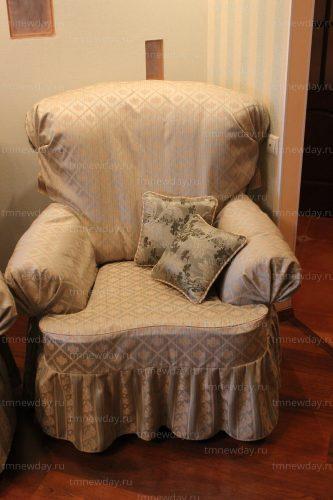 Чехол на кресло классика