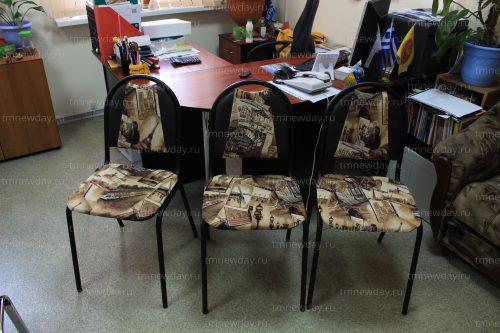 Декоративные чехлы на офисные стулья